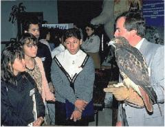 Biologist with Raptor1